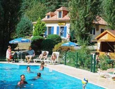 LA PELONIE-Le camping LA PELONIE, das Departement Dordogne-SAINT ANTOINE D AUBEROCHE