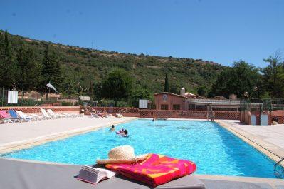PARC SAINT-JAMES LE SOURIRE-La piscine du camping PARC SAINT-JAMES LE SOURIRE-VILLENEUVE LOUBET
