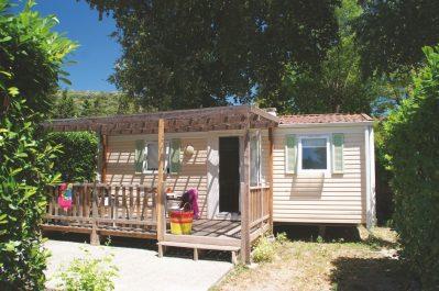 PARC SAINT-JAMES LE SOURIRE-Les mobil-homes du camping PARC SAINT-JAMES LE SOURIRE-VILLENEUVE LOUBET