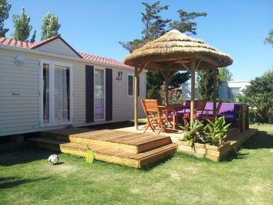 LES MIMOSAS-Les mobil-homes du camping LES MIMOSAS-NARBONNE