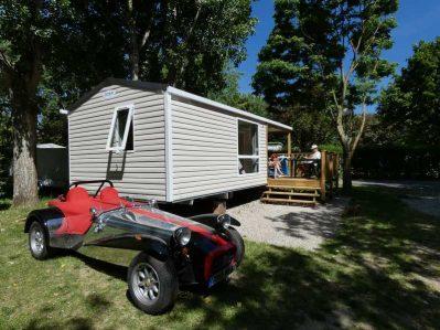 CAMPING DU VIADUC-Les mobil-homes du camping CAMPING DU VIADUC-MILLAU