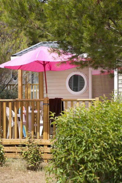 LES MOUETTES-Les mobil-homes du camping LES MOUETTES-MARTIGUES