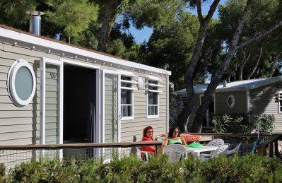 LE MAS-Les mobil-homes du camping LE MAS-MARTIGUES