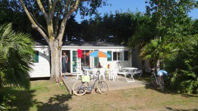 L'OCEAN-Les mobil-homes du camping L'OCEAN-COUARDE SUR MER