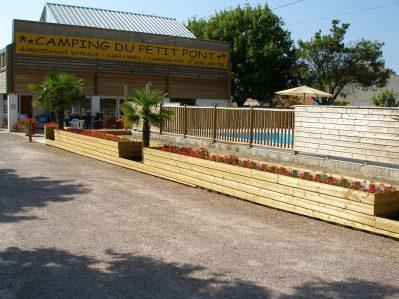 LE PETIT PONT-Le camping LE PETIT PONT, das Departement Charente-Maritime-ARVERT