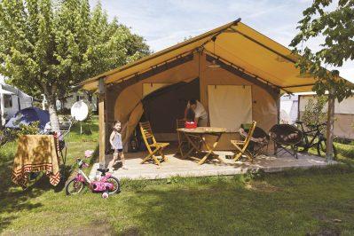 LA CLE DES CHAMPS-Les hébergements insolites du camping LA CLE DES CHAMPS-MATHES