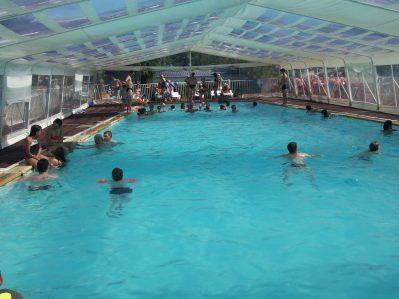 LA CLE DES CHAMPS-La piscine à vagues du camping LA CLE DES CHAMPS-MATHES