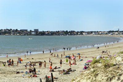 IDEAL CAMPING-La plage-SAINT GEORGES DE DIDONNE
