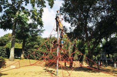 IDEAL CAMPING-Espace jeux pour les enfants-SAINT GEORGES DE DIDONNE
