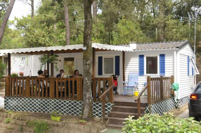 IDEAL CAMPING - Les mobil-homes du camping IDEAL CAMPING - SAINT GEORGES DE DIDONNE