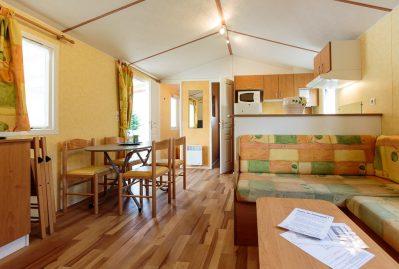 LE DAUPHIN-Les mobil-homes du camping LE DAUPHIN-SAINT GEORGES DE DIDONNE