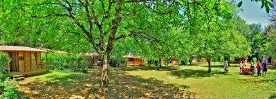 LES CHENES VERTS-Un camping en pleine nature-CALVIAC EN PERIGORD