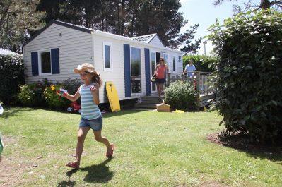 L'ESCALE SAINT-GILLES-Les mobil-homes du camping L'ESCALE SAINT-GILLES-BENODET
