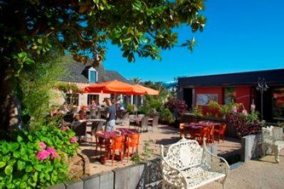LES MOUETTES-Le restaurant du camping LES MOUETTES-CARANTEC