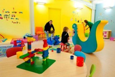 LES MOUETTES-Espace jeux pour les enfants-CARANTEC