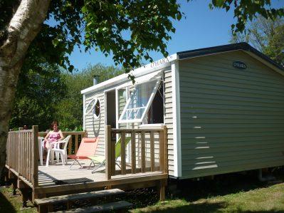 LES GRANDS SABLES-Les mobil-homes du camping LES GRANDS SABLES-CLOHARS CARNOET