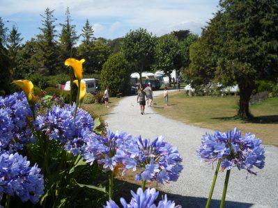 LES GRANDS SABLES-Un camping fleuri-CLOHARS CARNOET