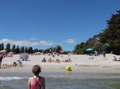 LES SAULES-La plage-FORET FOUESNANT