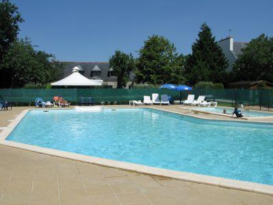 KERVASTARD-La piscine du camping KERVASTARD-FOUESNANT