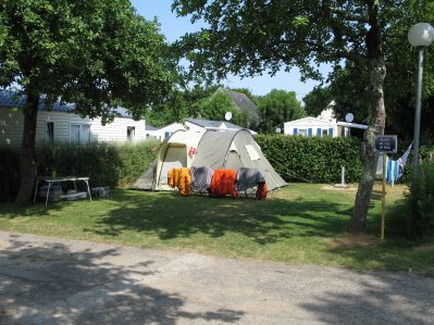 KERVASTARD-Les emplacements du camping KERVASTARD-FOUESNANT