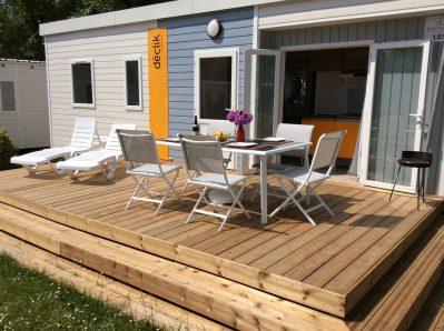 LES DEUX FONTAINES-Les mobil-homes du camping LES DEUX FONTAINES-NEVEZ