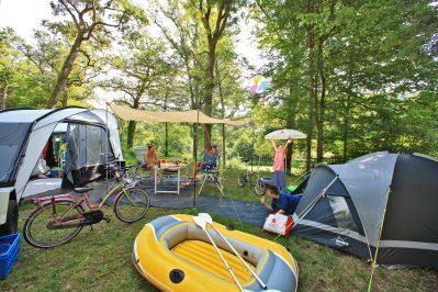 PARC DE FIERBOIS-Les emplacements du camping PARC DE FIERBOIS-STE CATHERINE DE FIERBOIS
