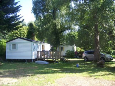 CLAIR MATIN-Les mobil-homes du camping CLAIR MATIN-ALLEVARD