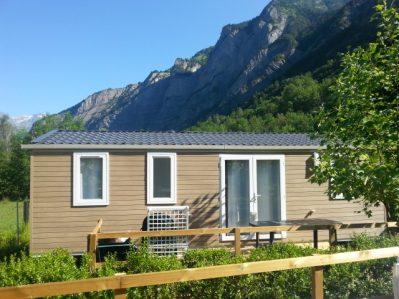A LA RENCONTRE DU SOLEIL-Les mobil-homes du camping A LA RENCONTRE DU SOLEIL-BOURG D OISANS