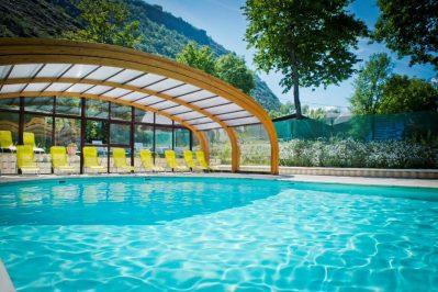 A LA RENCONTRE DU SOLEIL-La piscine du camping A LA RENCONTRE DU SOLEIL-BOURG D OISANS