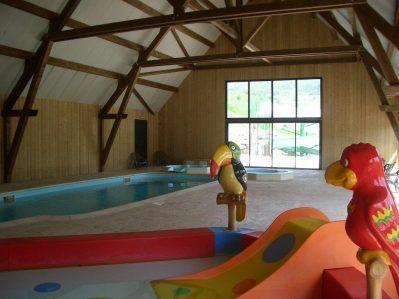 L'OURSIERE-Le parc aquatique du camping L'OURSIERE-VILLARD DE LANS
