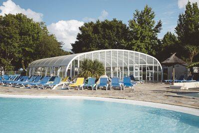 MAYOTTE VACANCES-Le parc aquatique du camping MAYOTTE VACANCES-BISCARROSSE