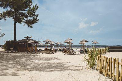 MAYOTTE VACANCES-Accès direct à la plage pour le camping MAYOTTE VACANCES-BISCARROSSE