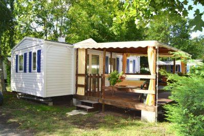 LES PRES VERTS-Le camping LES PRES VERTS, das Departement Landes-GASTES