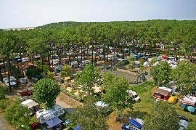 CAMP D'ALBRET PLAGE-Le camping vu du ciel-MESSANGES