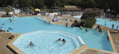 LE SAINT MARTIN-Le parc aquatique du camping LE SAINT MARTIN-MOLIETS ET MAA