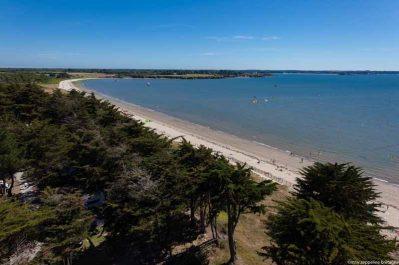 LE MOULIN DE L'ECLIS-Accès direct à la plage pour le camping LE MOULIN DE L'ECLIS-ASSERAC
