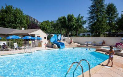 LE JARDIN DES CEVENNES-La piscine du camping LE JARDIN DES CEVENNES-MEYRUEIS