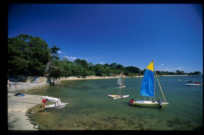 PENBOCH-Accès direct à la plage pour le camping PENBOCH-ARRADON
