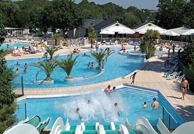 MANE GUERNEHUE-Le parc aquatique du camping MANE GUERNEHUE-BADEN