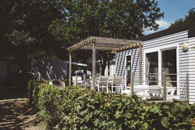 LA GRANDE METAIRIE-Les mobil-homes du camping LA GRANDE METAIRIE-CARNAC