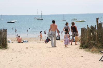 LES MENHIRS-La plage-CARNAC