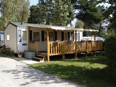 LE MANOIR DE KER AN POUL-Les mobil-homes du camping LE MANOIR DE KER AN POUL-SARZEAU