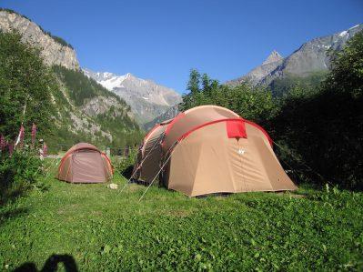 LES LANCHETTES-Le camping LES LANCHETTES, das Departement Savoie-PEISEY NANCROIX