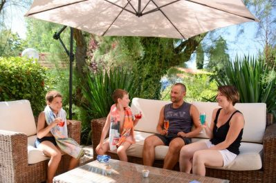 L'OASIS DU VERDON-Le bar du camping L'OASIS DU VERDON-AUPS