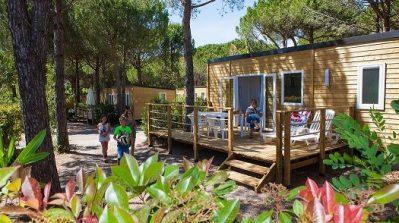 LA BAUME LA PALMERAIE-Les mobil-homes du camping LA BAUME LA PALMERAIE-FREJUS