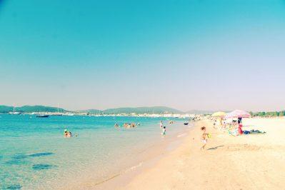 LES MURES-La plage-GRIMAUD