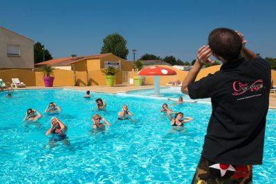 LE BEL AIR-Jeux aquatiques au camping LE BEL AIR, la Vendée-CHATEAU D OLONNE