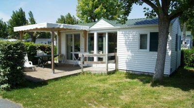 AUX COEURS VENDEENS-Les mobil-homes du camping AUX COEURS VENDEENS-SAINT JEAN DE MONTS