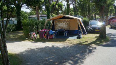 AUX COEURS VENDEENS-Les emplacements du camping AUX COEURS VENDEENS-SAINT JEAN DE MONTS