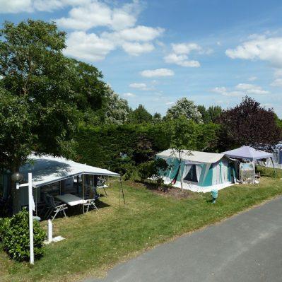 LES AMIAUX-Les emplacements du camping LES AMIAUX-SAINT JEAN DE MONTS